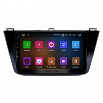 10,1 pouces Android 10.0 Radio pour 2016-2018 VW Volkswagen Tiguan Bluetooth HD à écran tactile Navigation GPS Carplay support USB TPMS DAB + DVR