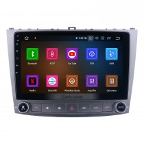 Android 10.0 Pour Lexus IS250 Radio Système de navigation GPS 10,1 pouces avec Bluetooth HD Touchscreen Carplay support SWC