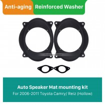 High Quality Front Speaker Mat Plates Bracket for 2006-2011 Toyota Camry/Reiz (Hollow)