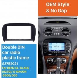 Para mercedes g clase tipo 461 463 auto radio diafragma montaje instalación marco 1-din