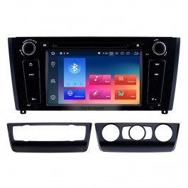 Android 10.0 HD Pantalla táctil 1024 * 600 2004-2012 BMW Serie 1 E81 E82 116i 118i 120i 130i con radio Bluetooth Sistema de navegación DVD AUX WIFI Enlace espejo OBD2