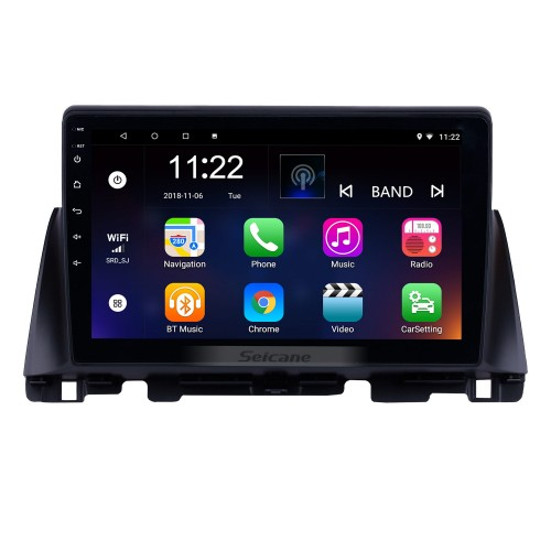 10.1 pulgadas Android 10.0 2016 Kia K5 HD con pantalla táctil Radio Bluetooth Sistema de navegación GPS compatible Cámara de reserva TPMS Control del volante TV digital Enlace de espejo