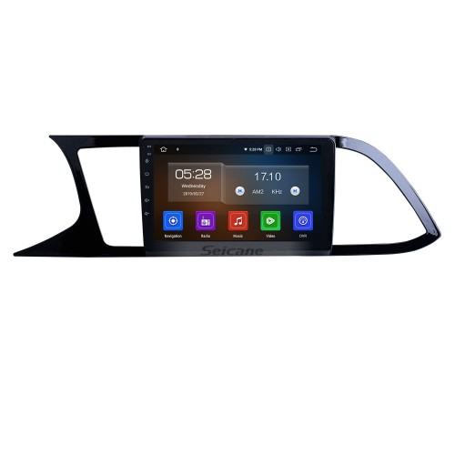9 pulgadas para 2018 Seat Leon Radio Android 10.0 Sistema de navegación GPS WIFI Bluetooth HD Pantalla táctil Carplay compatible con TV digital