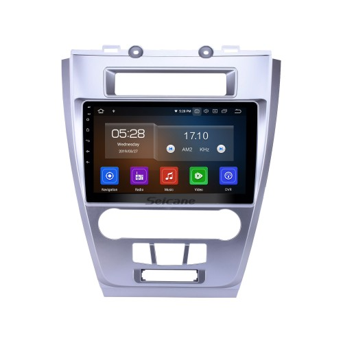 10.1 pulgadas 2009-2012 Ford Mondeo Android 9.0 Navegación GPS Radio Bluetooth HD Pantalla táctil AUX USB Música Carplay compatible 1080P Video Mirror Link