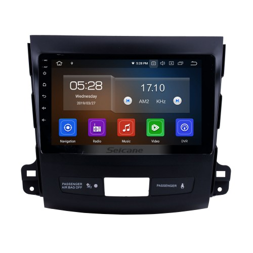 8 Inch Android 4.2 Touch Screen radio Bluetooth GPS Navigation system For 2006-2012 Mitsubishi OUTLANDER Support TPMS DVR OBD II USB SD 3G WiFi Rear camera Steering Wheel Control HD 1080P Video AUX