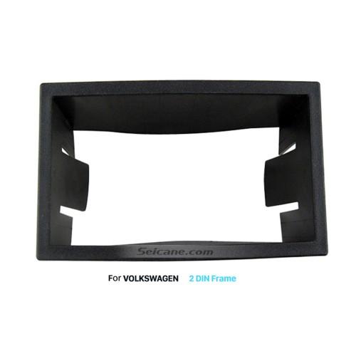 173 * 98 mm Double Din Volkswagen Car Radio Fascia DVD GPS Panel Panel de montaje del marco Kit de instalación