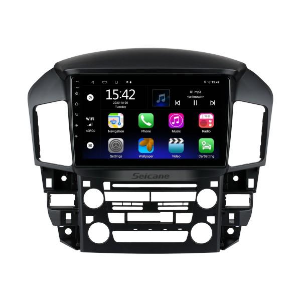 10.1 pulgadas Android 10.0 para Lexus RX300 1999 Radio Sistema de navegación GPS con pantalla táctil HD Soporte Bluetooth Carplay OBD2