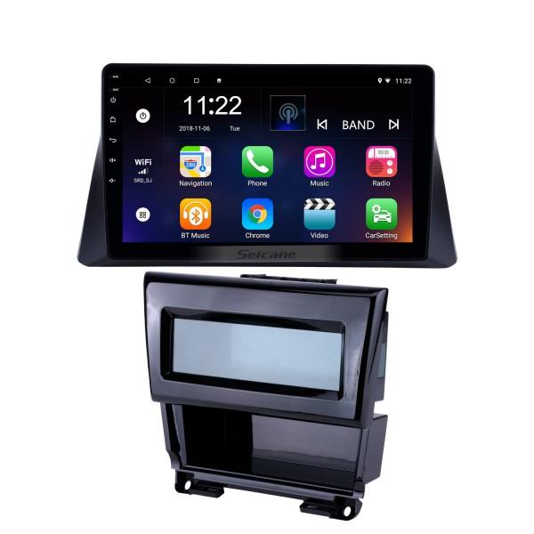 10.1 pulgadas 2008 2009 2010 2011 2012 Honda accord 8 Android 10.0 Radio Navegación GPS Bluetooth Música WIFI USB Mirror Link Estéreo para auto Soporte DVR OBD2 Control del volante Cámara de respaldo