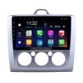 2004-2011 Ford Focus EXI MT 2 3 Mk2 / Mk3 Manual AC 9 pulgadas HD Pantalla táctil Android 10.0 Radio Navegación GPS 3G WIFI USB OBD2 RDS Enlace espejo Bluetooth Música Control del volante Cámara de respaldo