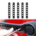 Accesorios para el automóvil Manija de la puerta Trim Aluminum Sticker Cover Kit de instalación de la barra para Jeep Wrangler