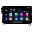 10.1 pulgadas HD con pantalla táctil Radio, sistema de navegación GPS Android 10.0 para 2008-2015 TOYOTA Sequoia 2006-2013 Soporte para tundra Radio Carplay Bluetooth OBD II DVR 3G WIFI Cámara de visión trasera