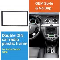 173 * 98 mm estéreo Doble Din 2006 Buick Excelle la radio de coche automático Fascia interfaz Frame Panel de DVD Reproductor de Audio