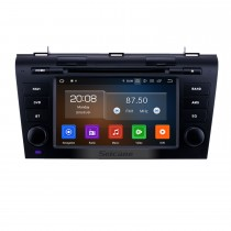7 pulgadas Android 9.0 Radio de navegación GPS para 2007-2009 Mazda 3 con pantalla táctil HD Compatible con Bluetooth Carplay Cámara trasera TV digital