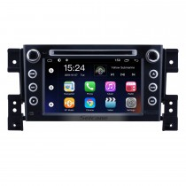 OEM 7 pulgadas Android 9.0 para 2006 2007 2008 2009 2010 Suzuki Grand Vitara Radio Bluetooth HD Pantalla táctil Sistema de navegación GPS compatible con Carplay