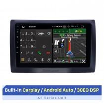 Radio Android 10.0 de 9 pulgadas para 2010 Fiat Stilo Bluetooth WIFI USB HD Pantalla táctil Navegación GPS Soporte Carplay OBD2 TPMS DAB + DVR