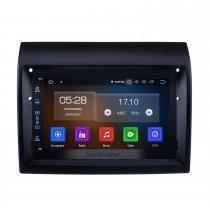 Android 10.0 7 pulgadas HD Pantalla táctil Radio GPS Navegación Unidad principal para 2007-2016 Fiat Ducato / Peugeot Boxer con música Bluetooth Wifi USB Volante Soporte de control Cámara de visión trasera DVR Reproductor de DVD 1080P Video