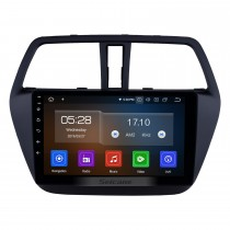 2013-2016 Suzuki SX4 S-Cross Android 9.0 9 pulgadas Navegación GPS Radio Bluetooth AUX HD Pantalla táctil USB Carplay soporte TPMS DVR TV digital