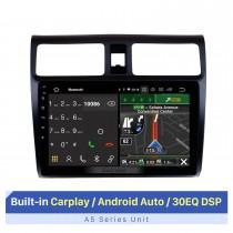 10.1 pulgadas Android 10.0 2005-2010 Suzuki Swift HD Pantalla táctil Radio Navegación GPS Bluetooth WIFI USB Aux Cámara de visión trasera OBDII TPMS 1080P video