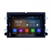 7 pulgadas Android 10.0 para 2005-2008 2009 Ford Escape Mustang Sistema de navegación GPS Radio con pantalla táctil HD Bluetooth WiFi Carplay compatible con OBD2 1080P Video