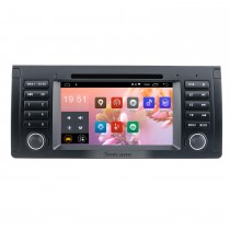 7 pulgadas Android 9.0 Muti-touch Screen autoradio DVD Player para 2000-2007 BMW X5 E53 3.0i 3.0d 4.4i 4.6is 4.8is 1996-2003 BMW 5 Series E39 con sistema de navegación GPS Sistema de audio Canbus Bluetooth WIFI Enlace espejo USB 1080P DVR