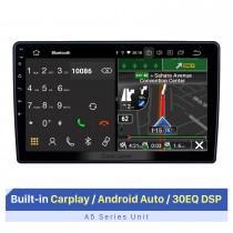 Radio de navegación GPS con pantalla táctil HD de 10.1 pulgadas Android 10.0 para Dodge / Jeep / Chrysler Universal con soporte Bluetooth Carplay DVR