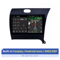 2012-2016 Kia K3 RHD Android 10.0 9 pulgadas Navegación GPS Radio Bluetooth HD Pantalla táctil WIFI USB Carplay compatible con TV digital