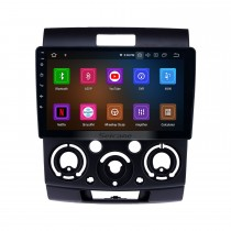 2006-2010 Ford Everest / Ranger Android 9.0 9 pulgadas Navegación GPS Radio Bluetooth HD Pantalla táctil USB Compatible con Carplay TPMS Control del volante
