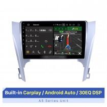 10.1 pulgadas Android 10.0 2012 2013 2014 2015 Toyota Camry HD Pantalla táctil Bluetooth Navegación GPS Radio Control del volante Soporte DVR 3G / 4G WIFI USB Carplayer Reproductor de DVD