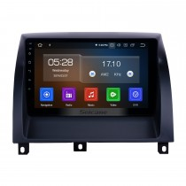 Android 9.0 Radio de navegación GPS de 9 pulgadas para MG3 2011-2016 con pantalla táctil HD Carplay Bluetooth Mirror Link compatible con TPMS TV digital