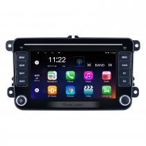 Pantalla táctil HD de 7 pulgadas Android 10.0 para VW Volkswagen Radio universal Sistema de navegación GPS Con soporte Bluetooth Carplay Cámara de respaldo