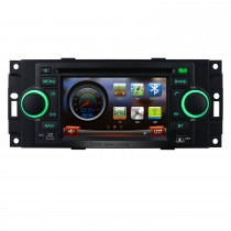 In Dash Autoradio GPS Navigation Bluetooth para 2006 2007 Mitsubishi Raider con DVD Sintonizador de TV AUX IPOD MP3 Control del volante Dual Zone SD USB