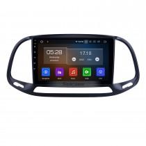 9 pulgadas para 2015 2016 2017 2018 2019 Fiat Doblo Radio Android 10.0 Sistema de navegación GPS con pantalla táctil HD Bluetooth Carplay compatible con DVR