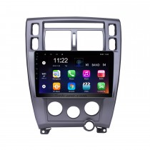 10.1 pulgadas Android 10.0 HD Radio con pantalla táctil para 2006-2013 Hyundai Tucson LHD Navegación GPS Estéreo Coche Soporte Bluetooth Vínculo espejo OBD2 3G WiFi DVR 1080P Control del volante de video