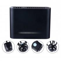 Universal 360 ° Surround View Asistente de aparcamiento sistema de asistencia con 4 cámaras de 180 ° 2D pantalla de copia de seguridad de ayuda reversa Asistencia Kit coche sistema de aparcamiento