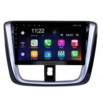 10.1 pulgadas 2014 2015 2016 2017 TOYOTA VIOS Yaris Android 10.0 HD Pantalla táctil Radio Unidad Unidad de navegación GPS Soporte para Bluetooth OBD II DVR 3G WIFI Cámara de visión trasera