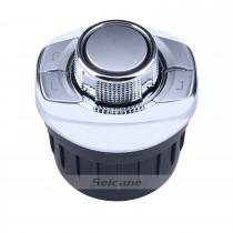Controlador universal de alta sensibilidad del volante de control del coche para la radio estéreo del coche Instalación de la ranura de la taza de navegación GPS Plug and Play
