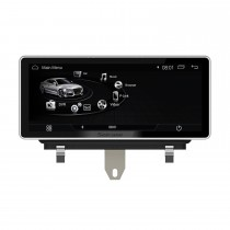 2009 2010 2011-2015 AUDI Q3 10.25 pulgadas Android 7.1 Radio 1280 * 480 Pantalla táctil Bluetooth Navegación GPS Actualización Reproductor Multimedia compatible Carplay 3G WIFI USB DVR 1080P Video