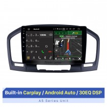 2009-2013 Buick Regal Android 10.0 9 pulgadas Navegación GPS Radio Bluetooth HD Pantalla táctil USB Carplay Soporte de música TPMS DAB + 1080P Video
