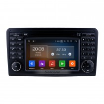 7 pulgadas con Android 9.0 HD Pantalla táctil GPS Radio para 2005-2012 Mercedes Benz ML CLASE W164 ML350 ML430 ML450 ML500 / GL CLASE X164 GL320 con soporte Bluetooth de Carplay Enlace Bluetooth