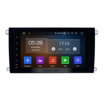 Radio Bluetooth con Android 9.0 de 8 pulgadas Para 2003-2010 PORSCHE Cayenne con sistema de navegación GPS TPMS DVR OBD II Cámara trasera AUX Reposacabezas Monitor Control USB Video SD 4G WiFi Pantalla táctil capacitiva