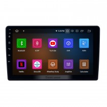 Android 9.0 Radio de navegación GPS de 9 pulgadas para 2011-2017 Lada Granta con pantalla táctil HD Carplay Bluetooth compatible con TV digital
