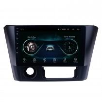 2014 2015 2016 Mitsubishi Lancer Android 8.1 9 pulgadas HD Pantalla táctil Navegación GPS Radio con WiFi Bluetooth Música Soporte USB Conexión de espejo Cámara de respaldo
