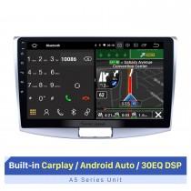 10.1 pulgadas Android 10.0 Para 2012 2013 2014 VW Volkswagen Magotan Actualización de radio 1024 * 600 Pantalla multitáctil Navegación GPS Reproductor de CD estéreo SWC WiFi OBD2 Bluetooth Música
