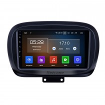 9 pulgadas 2014-2019 Fiat 500X Android 9.0 Navegación GPS Radio WIFI Bluetooth HD Pantalla táctil Carplay compatible TPMS DVR Mirror Link