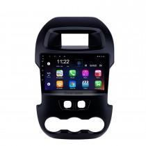 9 pulgadas Android 10.0 2011-2014 Ford Ranger Navegación GPS Radio con Bluetooth HD Pantalla táctil USB WIFI Soporte de música TPMS DVR SWC Carplay TV digital