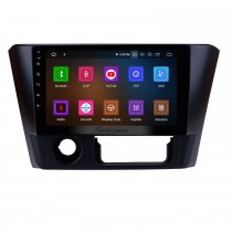 Radio estéreo con pantalla táctil de 9 pulgadas con Android 9.0 HD para 2014 2015 2016 Mitsubishi Lancer GPS Navi Bluetooth Mirror Link WIFI Teléfono USB Música SWC DAB + Carplay 1080P Video
