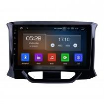 Android 10.0 de 9 pulgadas para 2015-2018 2019 Lada Xray Radio Sistema de navegación GPS con pantalla táctil HD Bluetooth Carplay compatible con OBD2 DVR
