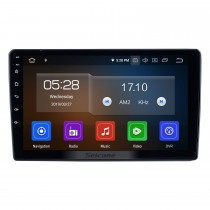 9 pulgadas para 2019 Mitsubishi Triton Radio Android 9.0 Navegación GPS Bluetooth HD Pantalla táctil Carplay compatible con OBD2 TV digital