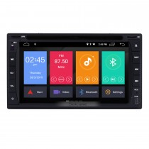 6.2 pulgadas Navegación GPS Radio universal Android 9.0 Bluetooth HD Pantalla táctil AUX Carplay Música compatible 1080P TV digital TPMS