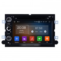7 pulgadas 2006-2009 Ford Fusion / Explorer 2007-2009 Edge / Expedition / Mustang Android 10.0 Radio de navegación GPS Bluetooth HD Pantalla táctil WIFI Carplay compatible Cámara de respaldo